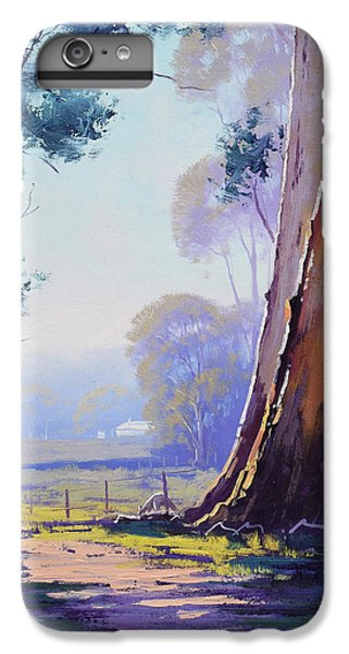 Kangaroo iPhone 7 Plus Case - Track To The Farm by Graham Gercken