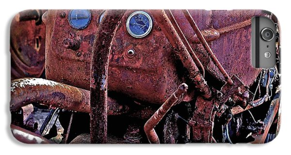 Shrimp Boats iPhone 7 Plus Case - Tractor Parts by Michael Thomas
