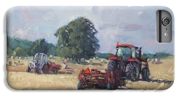 Georgetown iPhone 7 Plus Case - Tractors In The Farm Georgetown by Ylli Haruni