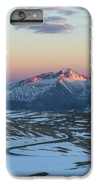 IPhone 7 Plus Case featuring the photograph Trail Ridge Road Vertical by Aaron Spong