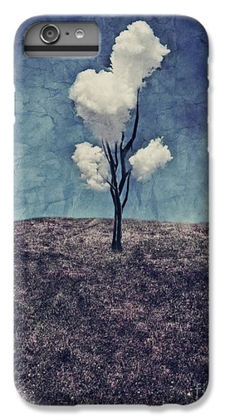 Landscapes iPhone 7 Plus Case - Tree Clouds 01d2 by Aimelle