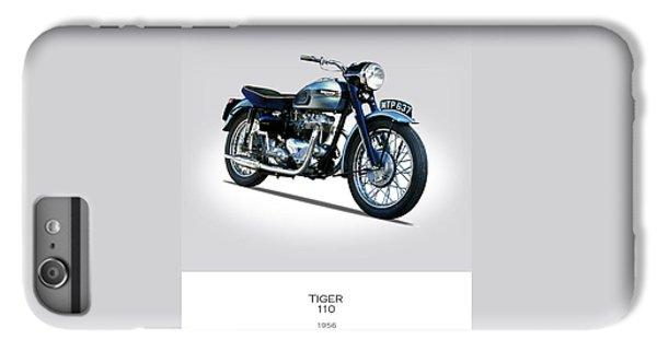 Triumph Tiger 110 1956 IPhone 7 Plus Case by Mark Rogan