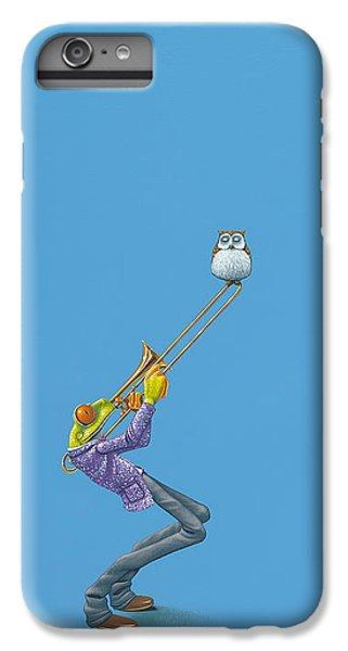 Trombone iPhone 7 Plus Case - Trombone by Jasper Oostland