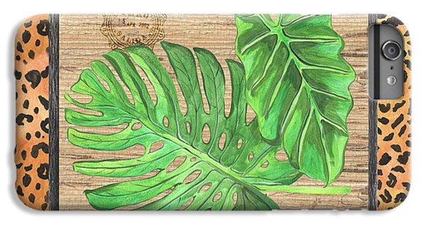 Cheetah iPhone 7 Plus Case - Tropical Palms 2 by Debbie DeWitt