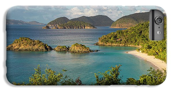 IPhone 7 Plus Case featuring the photograph Trunk Bay Morning by Adam Romanowicz