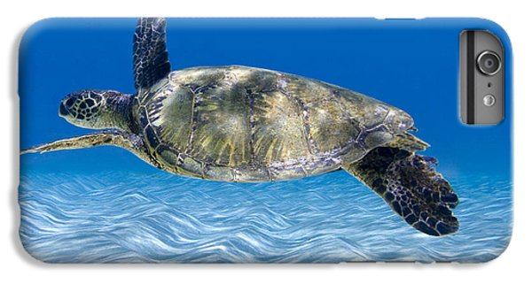 Turtle iPhone 7 Plus Case - Turtle Flight -  Part 2 Of 3  by Sean Davey
