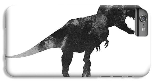 Tyrannosaurus Figurine Watercolor Painting IPhone 7 Plus Case by Joanna Szmerdt