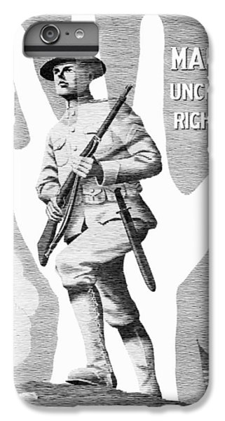 Marine iPhone 7 Plus Case - Uncle Sam's Right Hand - Us Marines by War Is Hell Store