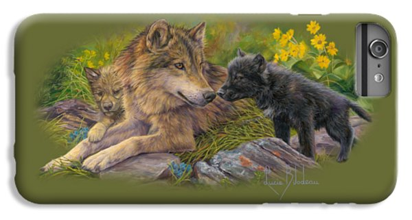 Wildlife iPhone 7 Plus Case - Unconditional Love by Lucie Bilodeau