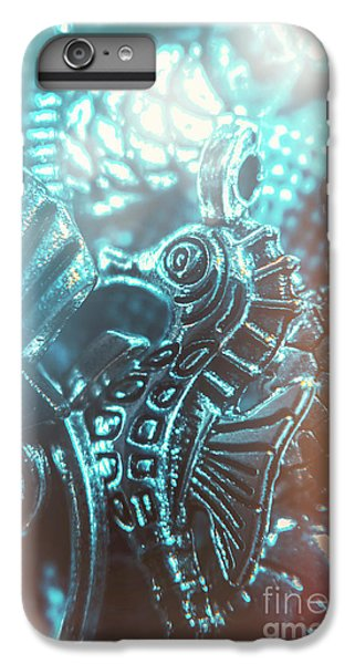 Seahorse iPhone 7 Plus Case - Under Blue Seas by Jorgo Photography - Wall Art Gallery