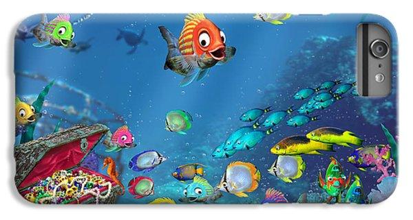 Seahorse iPhone 7 Plus Case - Underwater Fantasy by Doug Kreuger