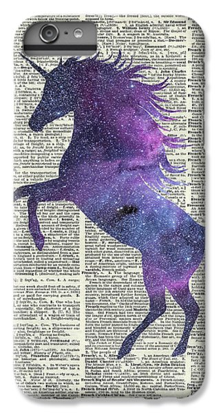 Unicorn In Space IPhone 7 Plus Case by Jacob Kuch