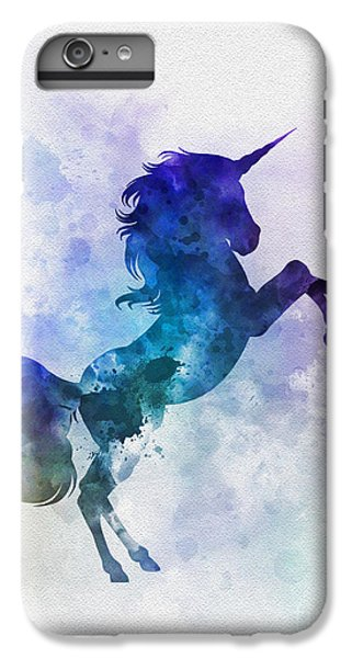 Unicorn IPhone 7 Plus Case by Rebecca Jenkins