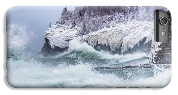 Lake Superior iPhone 7 Plus Case - Unleashed by Mary Amerman