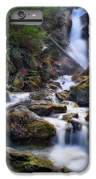 IPhone 7 Plus Case featuring the photograph Upper Race Brook Falls 2017 by Bill Wakeley