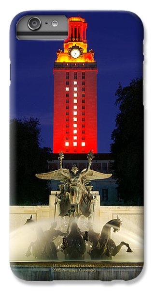 Ut Austin Tower Orange IPhone 7 Plus Case