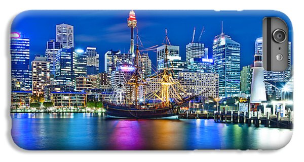 Sydney Skyline iPhone 7 Plus Case - Vibrant Darling Harbour by Az Jackson