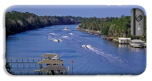 Jet Ski iPhone 7 Plus Case - View From The Bridge Of Lions by DigiArt Diaries by Vicky B Fuller