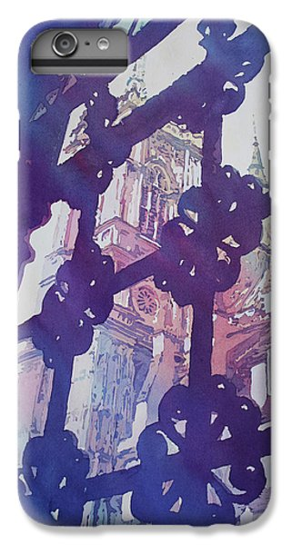 View From The Cloister IPhone 7 Plus Case by Jenny Armitage
