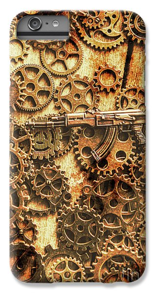 Warfare iPhone 7 Plus Case - Vintage Ak-47 Artwork by Jorgo Photography - Wall Art Gallery