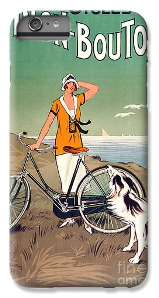 Vintage Bicycle Advertising IPhone 7 Plus Case by Mindy Sommers