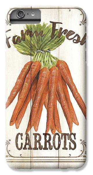 Vintage Fresh Vegetables 3 IPhone 7 Plus Case by Debbie DeWitt