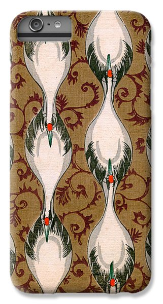 Vintage Japanese Illustration Of Cranes Flying IPhone 7 Plus Case