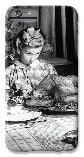 Vintage Photo Depicting Thanksgiving Dinner IPhone 7 Plus Case
