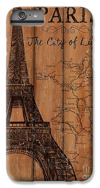 Eiffel Tower iPhone 7 Plus Case - Vintage Travel Paris by Debbie DeWitt