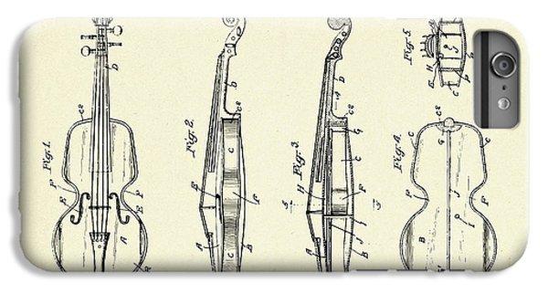 Violin iPhone 7 Plus Case - Violin-1921 by Pablo Romero