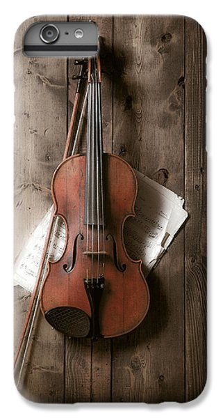 Violin IPhone 7 Plus Case by Garry Gay