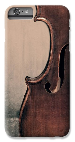 Violin iPhone 7 Plus Case - Violin Portrait  by Emily Kay