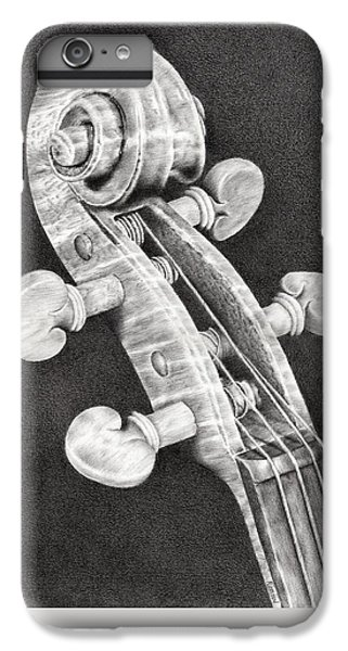 Violin iPhone 7 Plus Case - Violin Scroll by Remrov