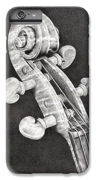 Violin iPhone 7 Plus Case - Violin Scroll by Remrov
