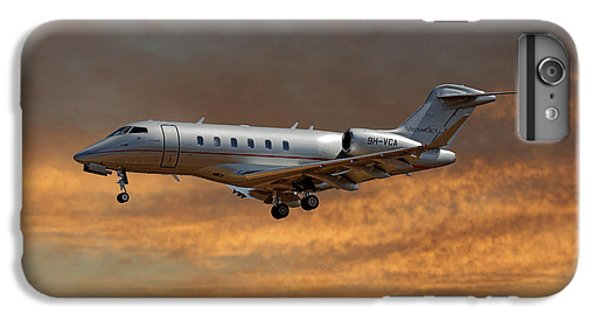 Jet iPhone 7 Plus Case - Vista Jet Bombardier Challenger 300 3 by Smart Aviation