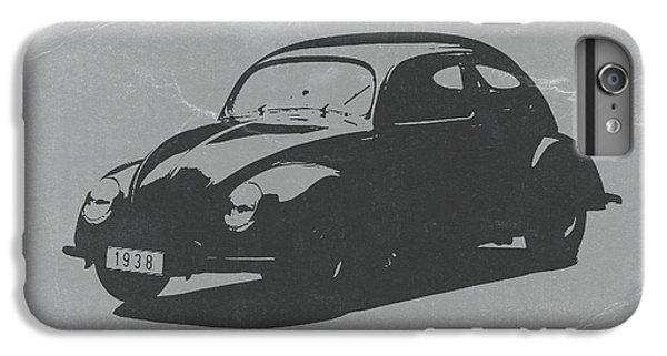 Car iPhone 7 Plus Case - Vw Beetle by Naxart Studio