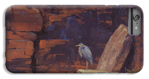 Heron iPhone 7 Plus Case - Waiting by Cody DeLong