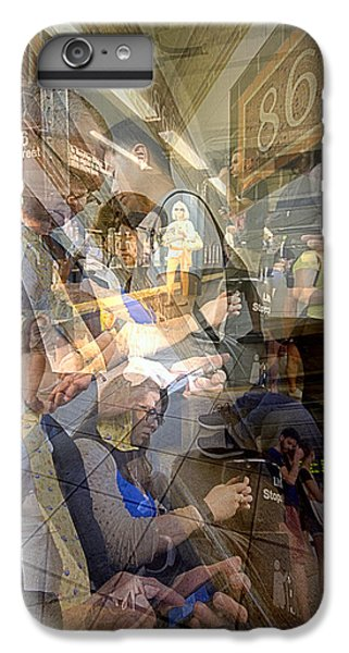 Waiting For 6 Train Collage IPhone 7 Plus Case