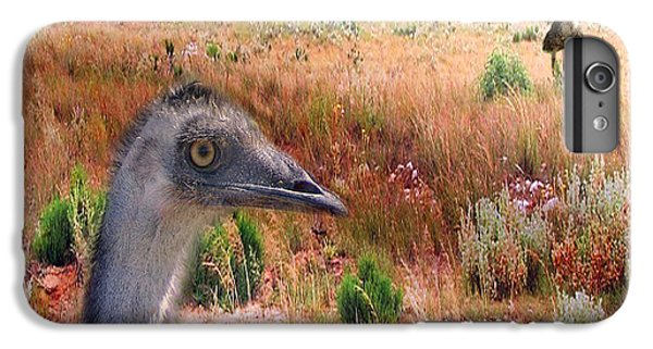 Emu iPhone 7 Plus Case - Walkabout by Holly Kempe