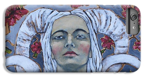Portraits iPhone 7 Plus Case - Warrior by Jane Spakowsky