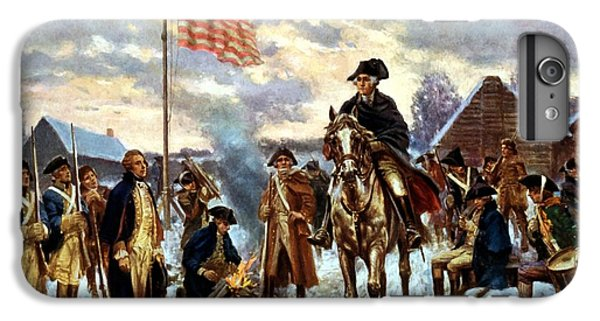 Politicians iPhone 7 Plus Case - Washington At Valley Forge by War Is Hell Store