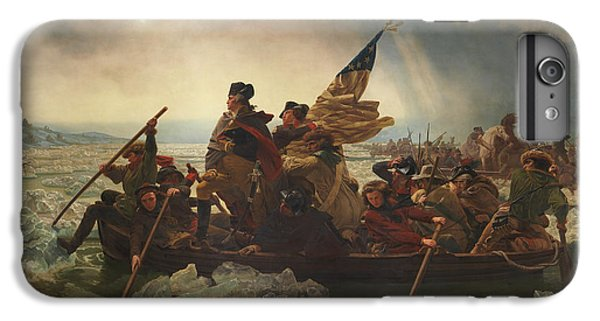 Politicians iPhone 7 Plus Case - Washington Crossing The Delaware by War Is Hell Store