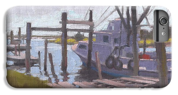 Shrimp Boats iPhone 7 Plus Case - Watch Your Step by Todd Baxter