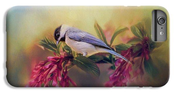 Watching Flowers Bloom Bird Art IPhone 7 Plus Case by Jai Johnson