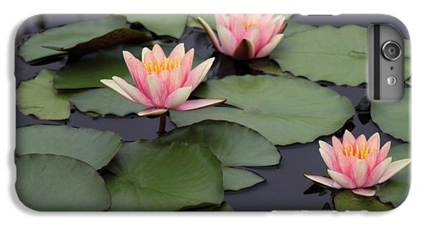 IPhone 7 Plus Case featuring the photograph Water Lilies by Jessica Jenney