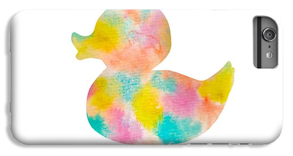 Watercolor Baby Duck IPhone 7 Plus Case by Nursery Art