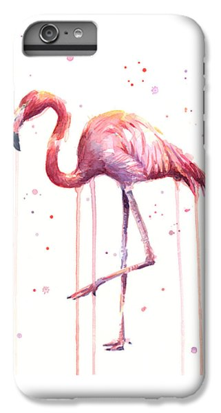 Watercolor Flamingo IPhone 7 Plus Case