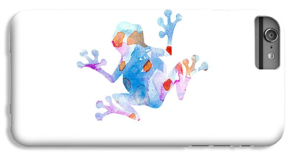 Watercolor Frog IPhone 7 Plus Case by Nursery Art