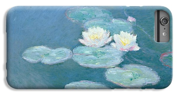 Impressionism iPhone 7 Plus Case - Waterlilies Evening by Claude Monet