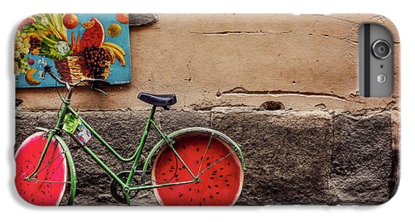 Watermelon Wheels IPhone 7 Plus Case by Happy Home Artistry